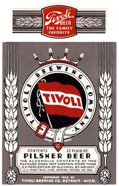 Tivoli Pilsner Beer by All Over Beer Photography, via Flickr