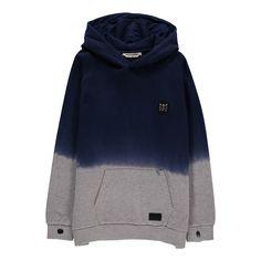 Munsterkids Two-Tone Ying Yang Hooded Sweatshirt-product