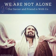 """Maybe the #longing of your heart is, """"I need a friend."""" I invite you to listen to Jesus — our #Lord and Friend — with me. """"Come to me,"""" he says. """"Whoever believes in me, as the #Scripture has said, streams of living water will flow from within him."""" (John 7:37-39)."""