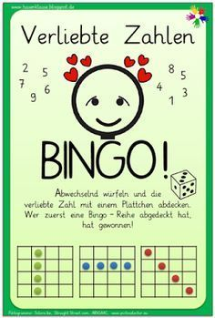 Hasenklasse: Verliebte Zahlen - Bingo!