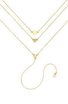 BaubleBar 'Skinny Love' Layered Necklace available at #Nordstrom