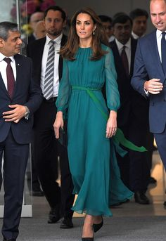 William and Catherine visited the Aga Khan Center before heading to Pakistan for 5 days visit