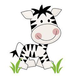 Safari Nursery Decor Zebra Decals Jungle Animals Wall Art Mural Room Stickers #decampstudios