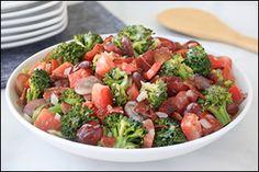 Hungry Girl's Next-Level Broccoli-Bacon Salad