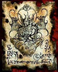 Strona z Necronomikona