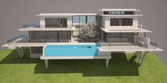 Anteproyecto para vivienda unifamiliar aislada House, Live, Architecture, Home, Haus, Houses, Homes