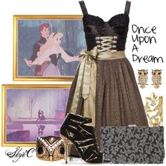 """""""Once Upon A Dream - Disney's Sleeping Beauty"""" by rubytyra on Polyvore"""