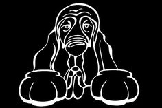 The Dog of the Day is the Bloodhound.  Every Dog has its Decal! Show off your love for your Soulmutt with a Decal Dog Car Window Sticker. And bark loud and proud by personalizing it with your dog's name! #decaldogs #dogsofpinterest  #Bloodhound  http://www.decaldogs.com