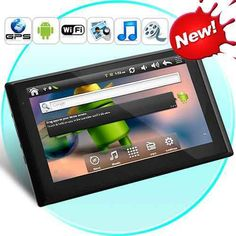 CyberNav - Android 2.2 Tablet GPS Navigator with 7 Inch Touchscreen (WiFi, 4GB,