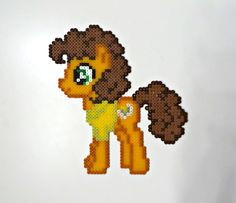 MLP CheeseSandwich perler beads by Noctico