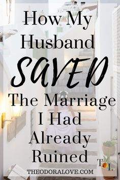 Is it possible that God can save your marriage despite pre-existing conditions predating your existence?  Many people go into marriage reliving the same catastrophic problems projected by their parents.  These strongholds can only be conquered by giving God the issues of your heart.
