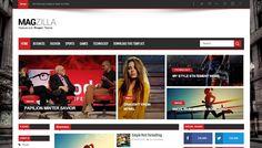 Download - Mag Zilla - Responsive Magazine Blogger Template