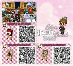 Heuler - Howler - Sprechender Hut - Sorting Hat -  Biba Broesel Spiel - A letter from Hogwarts - - Harry Potter - Wall - Tapete - Animal Crossing New Leaf - ACNL - QR - Broesel