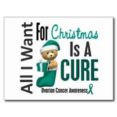 ovarain cancer trees   Ovarian Cancer Christmas Cards, Photo Card Templates, Invitations ..