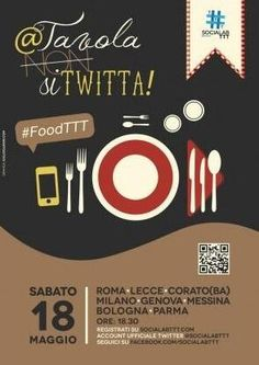 Verso il #Foodttt #Parma (with images, tweets) · portaforse · Storify #locandina