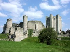 Conisbrough Castle in Doncaster, South Yorkshire 2003