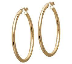 Eternally Classic Hoops from @EternaGold.  #MayisGoldMonth #MIGM #JumpinThroughHoops #Hoops #Earrings