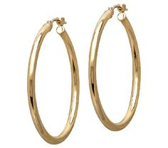 Eternally Classic Hoops from @EternaGold.  #MayisGoldMonth #MIGM #JumpinThroughHoops #Hoops #Earrings