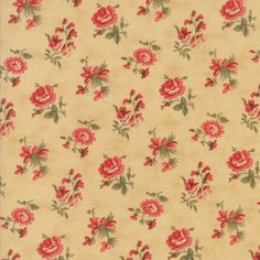 Moda Fabric 3 Sisters Courtyard 44124-11...Sold in continuous cut 1/2 yard increments by TheQuiltingCloset on Etsy