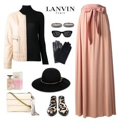 """""""lanvin maxi skirt"""" by bodangela ❤ liked on Polyvore featuring Lanvin"""