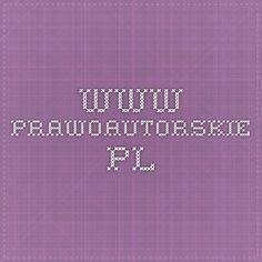 www.prawoautorskie.pl