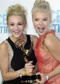 Summer and Courtney at Daytime Emmy Awards, June 22, 2014