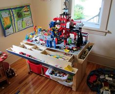 Wooden Lego Storage Ideas Pics