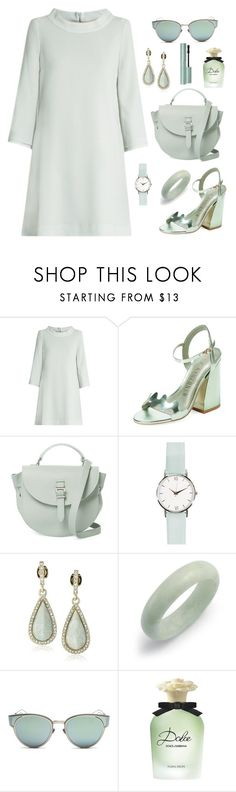 """""""Untitled #1889"""" by ebramos ❤ liked on Polyvore featuring Goat, Ivy Kirzhner, Meli Melo, Karen Kane, Bling Jewelry, Christian Dior and Dolce&Gabbana"""