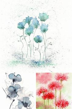 Watercolor Flowers for Beginners - Bing images