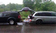 Rainy Season Picnic