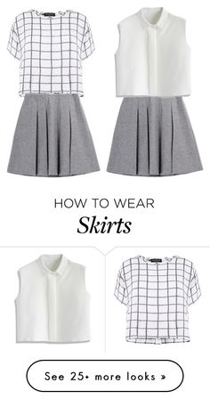 """Skirt loving, next set is going to be with this skirt too!!:))"" by briezy-2 on Polyvore featuring Myne, Fall Winter Spring Summer and Chicwish"