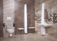 Bezbariérová koupelna by měla být pohodlná a bezpečná s dostatkem volného prostoru. Toilet, Bathroom, Wellness, Washroom, Flush Toilet, Full Bath, Toilets, Bath, Bathrooms
