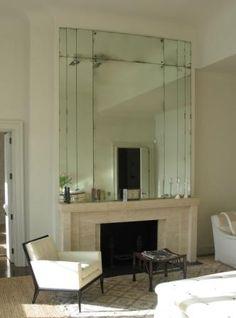 art deco mirror …