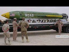 GBU-43: USA setzen in Afghanistan erstmals größte Bombe ihres Arsenals ein - YouTube
