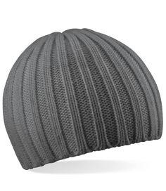 Beechfield Chunky Knit Beanie http://www.impogo.co.uk/caps-and-bags/winter-headgear/beechfield-chunky-knit-beanie-5.html?gender[]=3443&gender[]=5&gender[]=2828&gender[]=3448&gender[]=3479