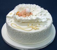 Детские торты — Торт на крестины