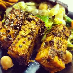 I admit it: I used to be afraid of Tofu. I scoffed at, reasoning why eat tofu when meat is right there? Well scoff no more. Health-wise, the benefits of tofu can be argued, but no one can argue with how absorbent tofu is to flavor. Tofu picks up the flavors or marinades, rubs, dressings…Continue reading ➞ Vegan Chipotle Lime Tofu
