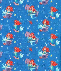 00fe78fdfd098b Springs Creative Disney Little Mermaid Musical Scenic Fabric -  6.4