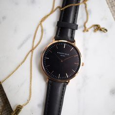 Can I please wake up with this Rosefield watch on my wrist?