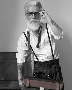 Brave & Bearded — Love that style @alessandro_manfredini shot by...