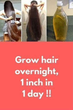 Grow hair overnight 1 inch in 1 day ! In this article I will share with you How to grow your hair overnight faster and longer. Grow your Hair 1 inch in 1 day. A Magical Formula to Grow your Hair Super fast Guaranteed Result. For this you will nee How To Grow Your Hair Faster, Make Hair Grow, Grow Long Hair, How To Grow Natural Hair, Growing Long Hair Faster, Hair Remedies For Growth, Hair Growth Treatment, Hair Growth Tips, Fast Hair Growth