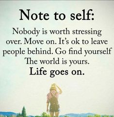 Life goes on, enjoy yourself, by yourself, make yourself happy.   It's allowed!!