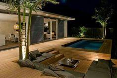 Havuz bahçe veranda.