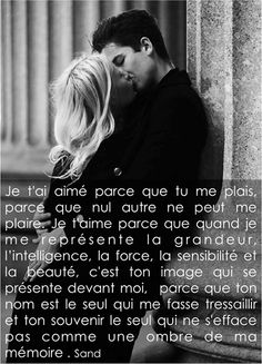 love poems for him romantic & love poems . love poems for him . love poems for him romantic . love poems for him soul mates . love poems for him deep . love poems for her heart . love poems for him short . George Sand, Sweet Words, Love Words, Amazing Quotes, Best Quotes, Love Quotes Pinterest, Love Poems For Him, French Quotes, Magic Words
