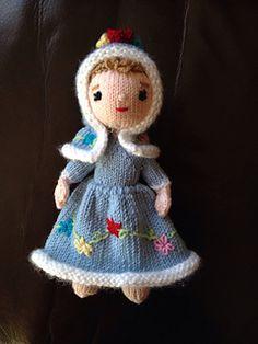 Ravelry: Grace Notes Knit Doll pattern by Beth Ann Webber