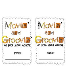 Movin' and Groovin': My Book About Motion! was designed to teach primary learners about motion, forces, gravity, and magnets.This download includ...