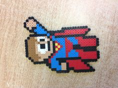 Superman perler beads by Molly W.