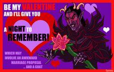 Skyrim Valentine: Sanguine by SlayerSyrena.deviantart.com on @deviantART