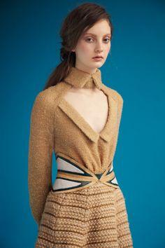 Rodarte : wool boucle raglan blouse