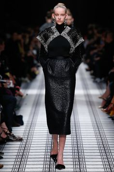 Balenciaga by Alexander Wang Autumn/Winter 2015-16 Ready To Wear Paris Fashion Week #PFW #BestLooks